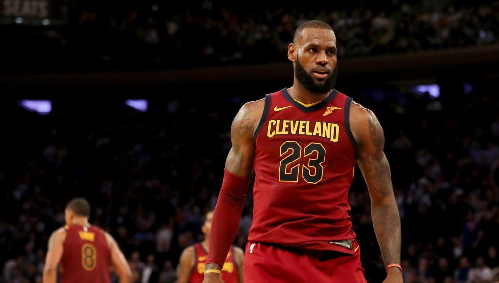 LeBron James Completely Takes Over MSG as Cavs Stun New York Knicks (Highlights) 1