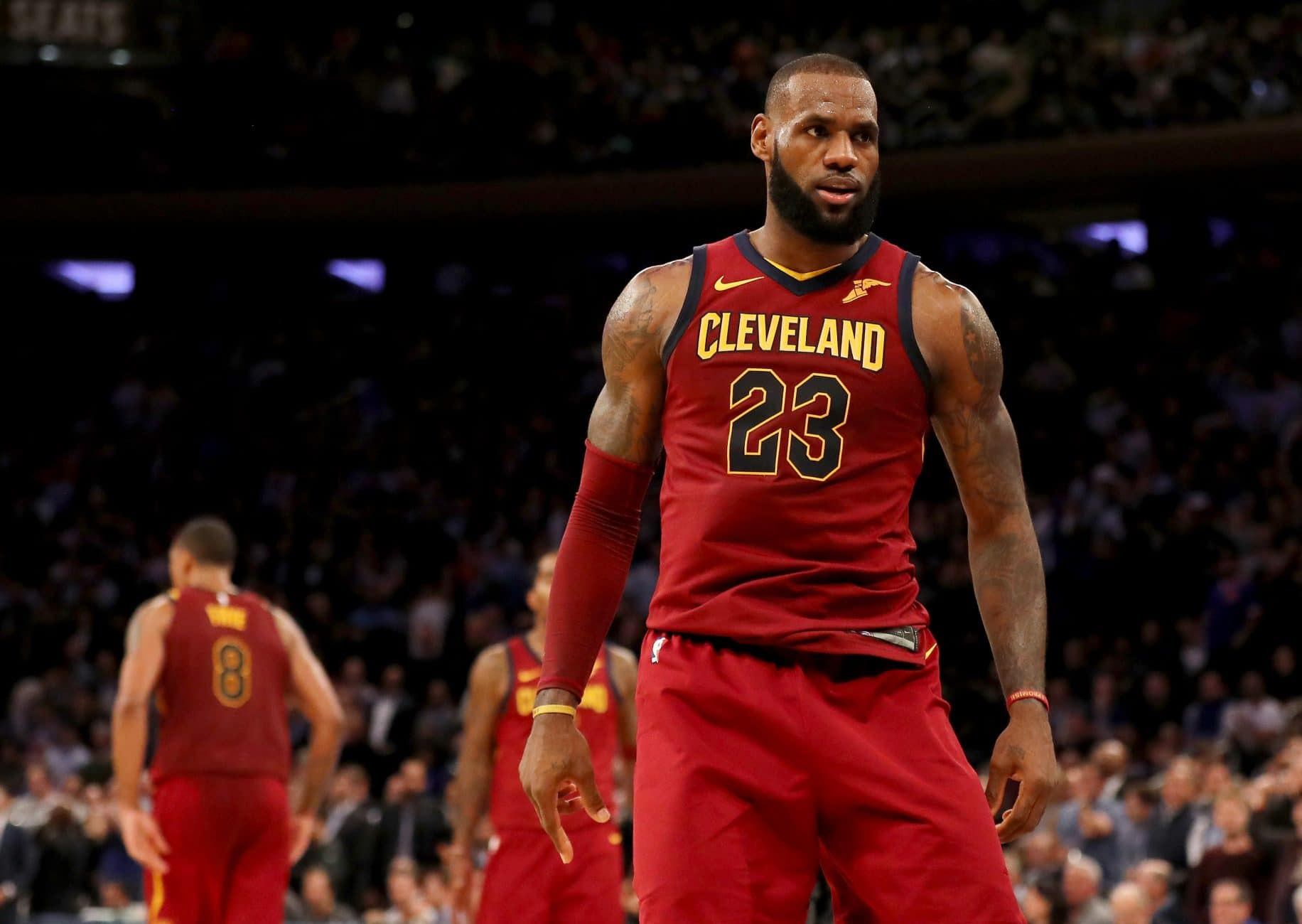 LeBron James Completely Takes Over MSG