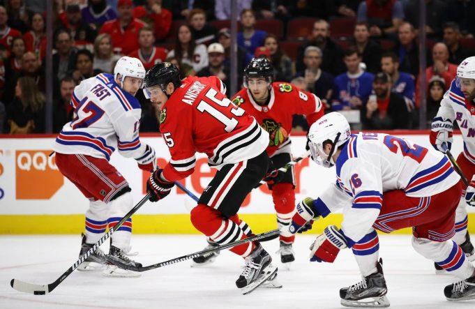 Artem Anisimov's Hat Trick Haunts New York Rangers, Blackhawks Win (Highlights)