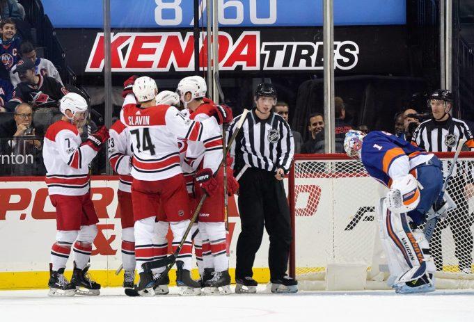 New York Islanders 2, Carolina Hurricanes 4: Awful first period buries Isles (Highlights)