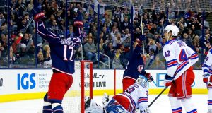 New York Rangers offense runs dry, blanked by Columbus, 2-0 (Highlights)