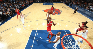 New York Knicks Get Wake Up Call From Rockets In Blowout Loss