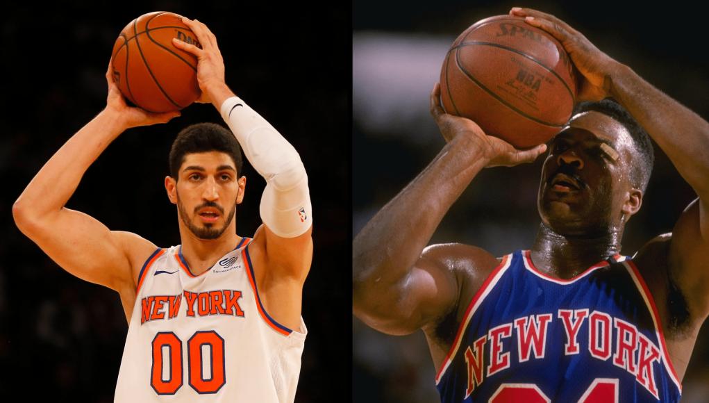 New York Knicks' Enes Kanter is Charles Oakley 2.0 3