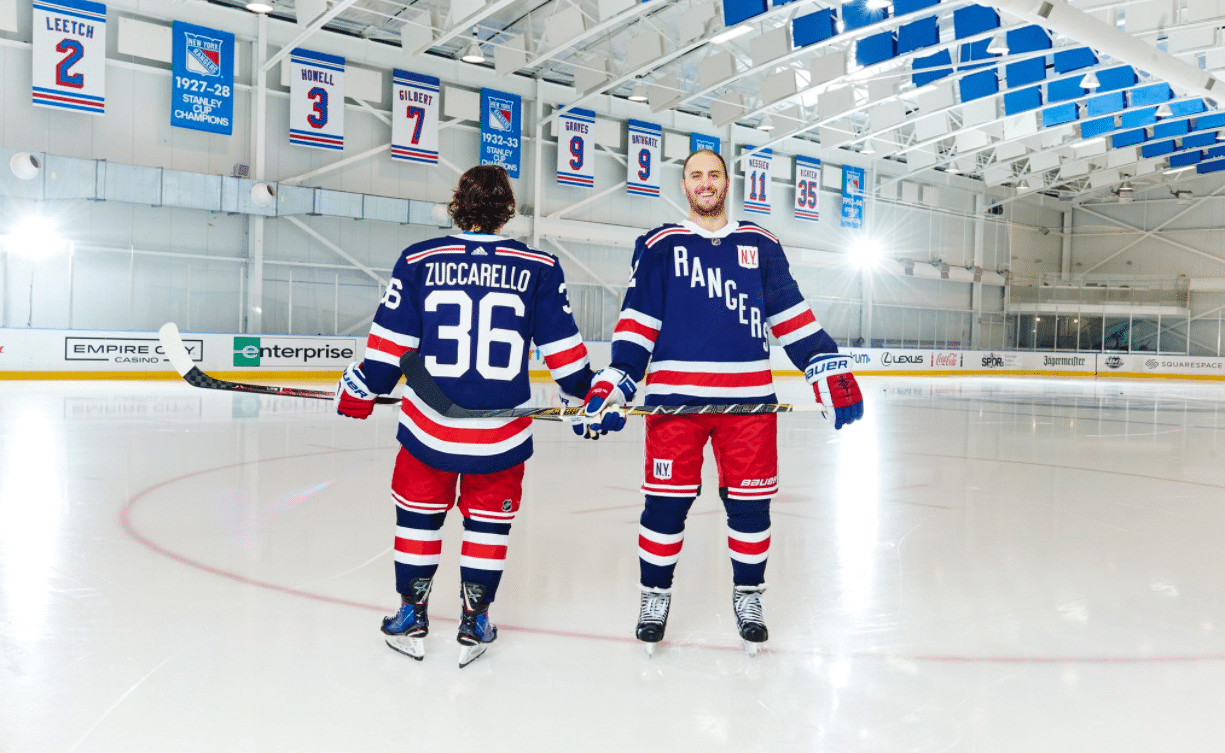 quality design ffbcd f87b2 New York Rangers official 'Winter Classic' jerseys unveiled