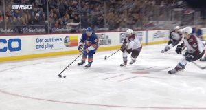 Scott Mayfield's Fortunate Bounce Puts New York Islanders Up Early