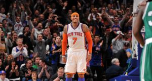 Carmelo Anthony New York Knicks Boston Celtics
