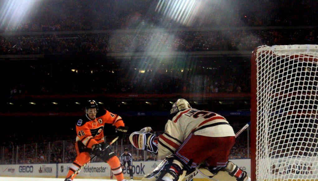 Henrik Lundqvist New York Rangers Winter Classic