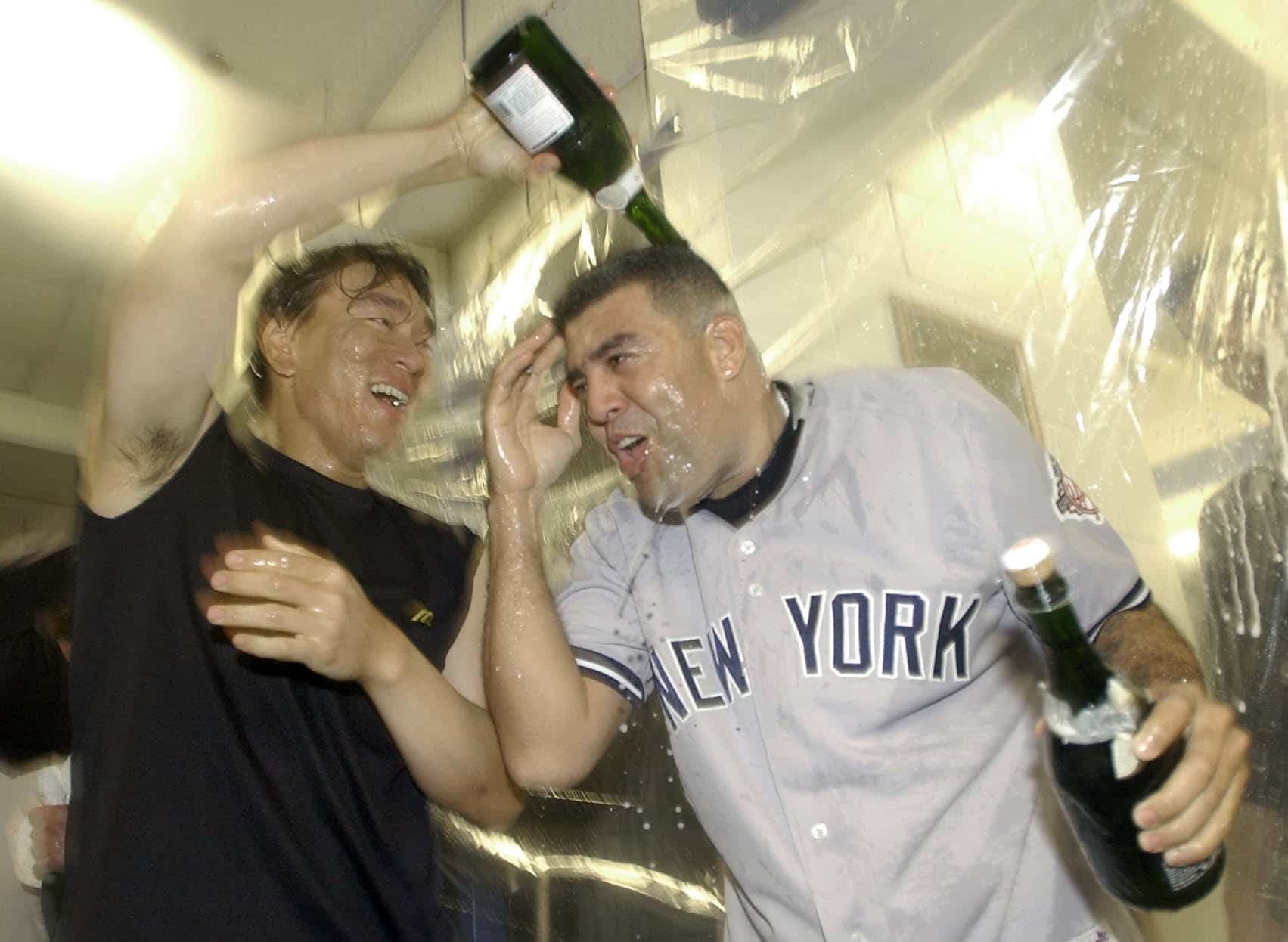 Luis Sojo, Hideki Matsui, New York Yankees