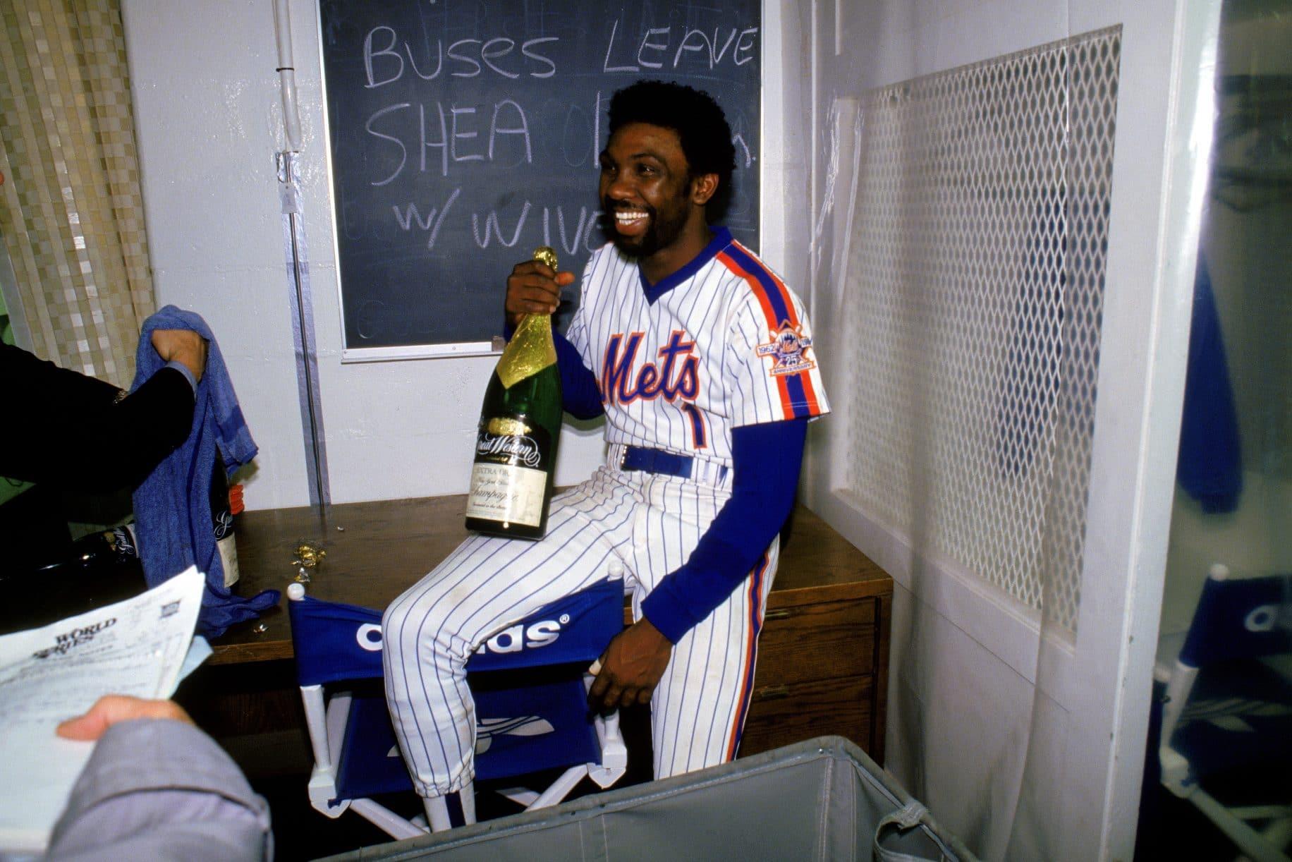 Mookie Wilson, New York Mets, 1986 World Series