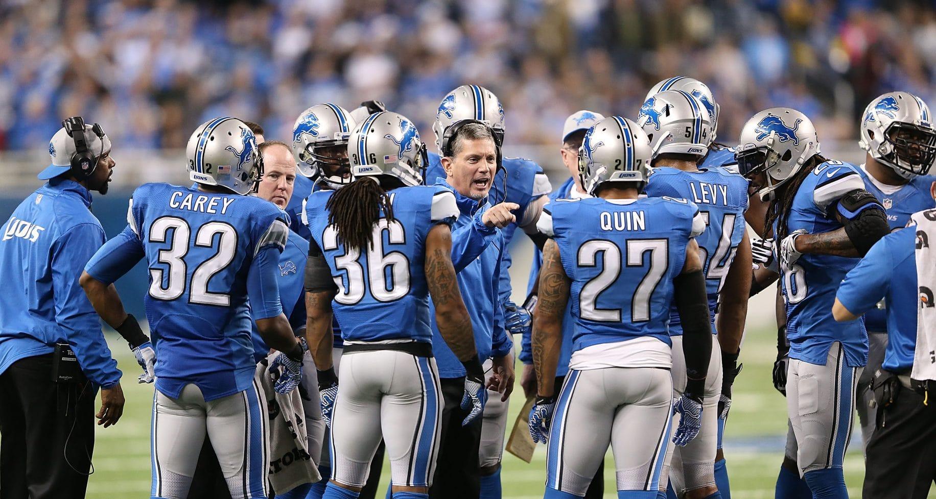 Jim Schwartz Detroit Lions