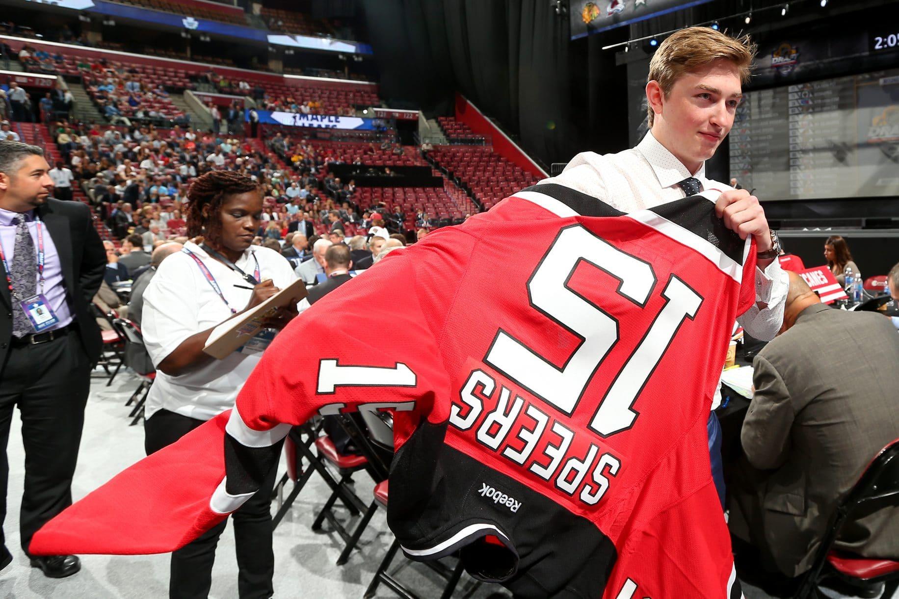 Blake Speers New Jersey Devils