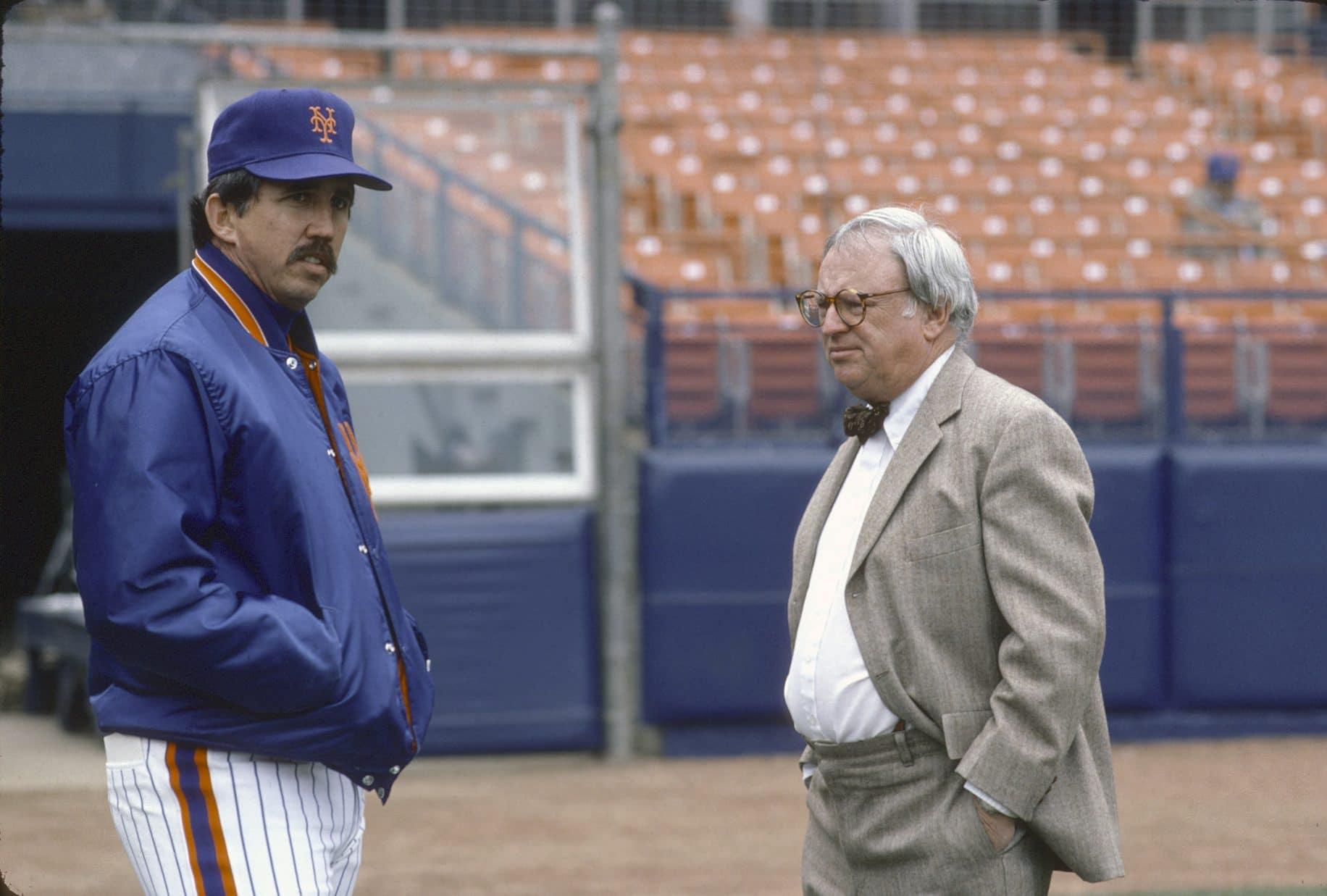 Davey Johnson Frank Cashen New York Mets