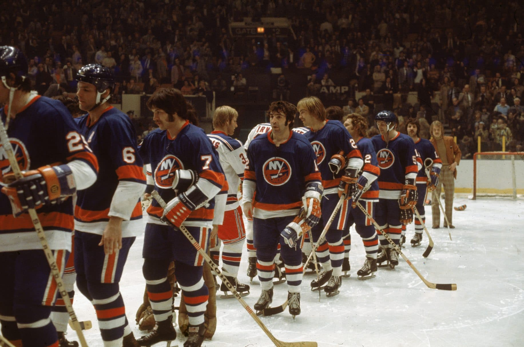 J.P. Parise New York Islanders Rangers