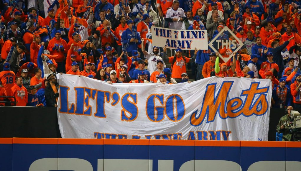 New York Mets 7 Line Army