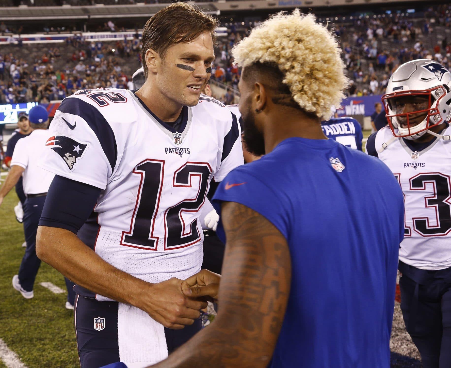 New York Giants: Odell Beckham Jr. compares himself to Tom Brady