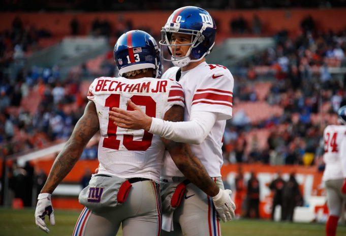 New York Giants, Eli Manning, Odell Beckham Jr.