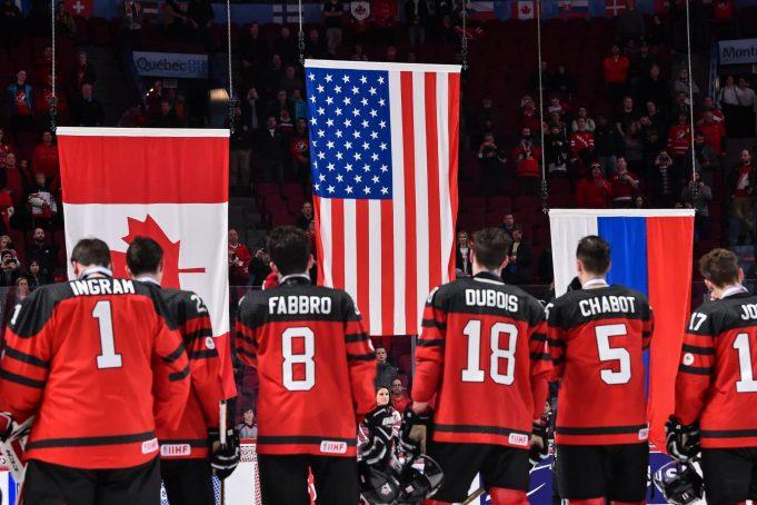 Team Canada v Team USA