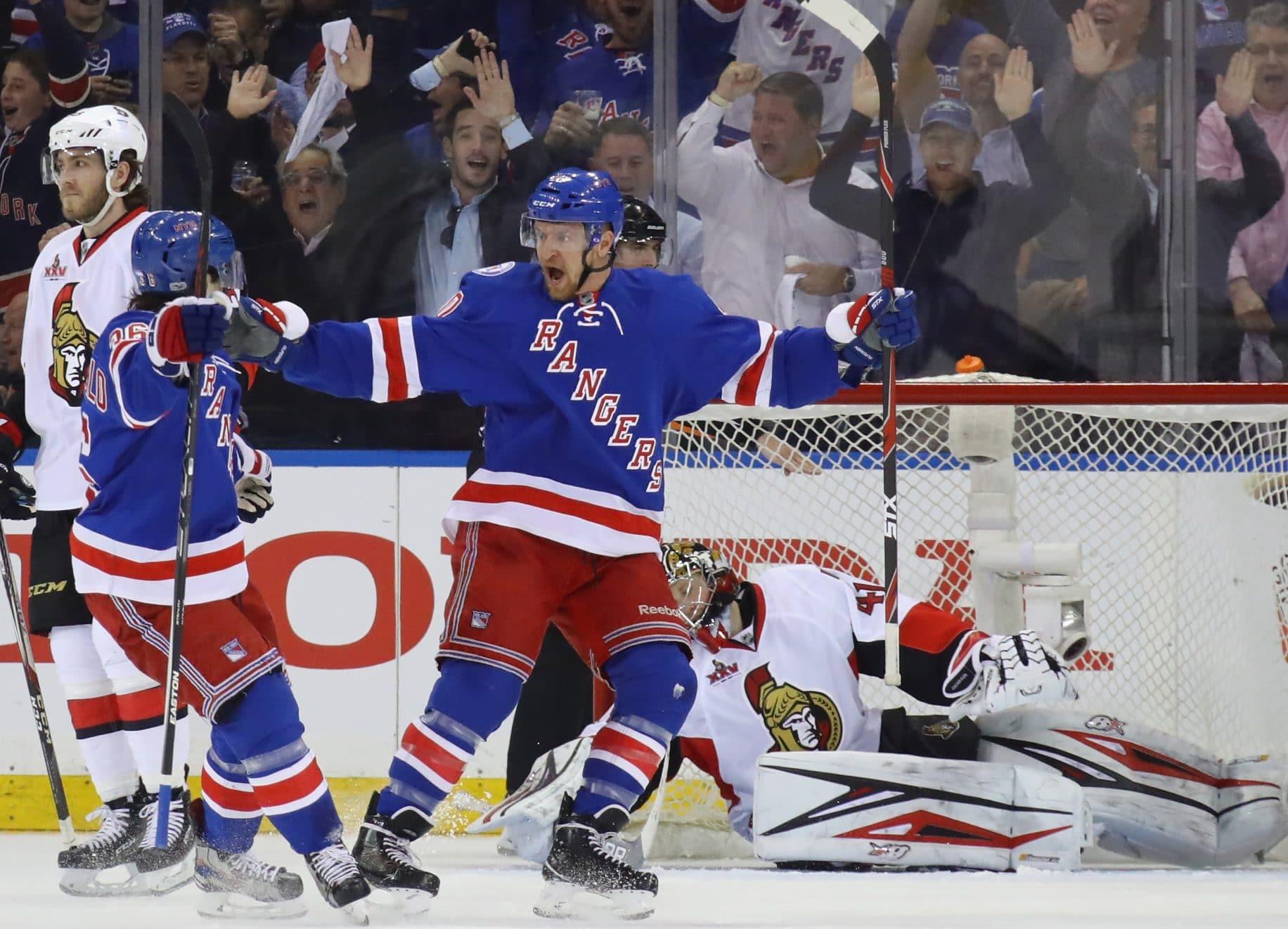 Michael Grabner, New York Rangers, NHL