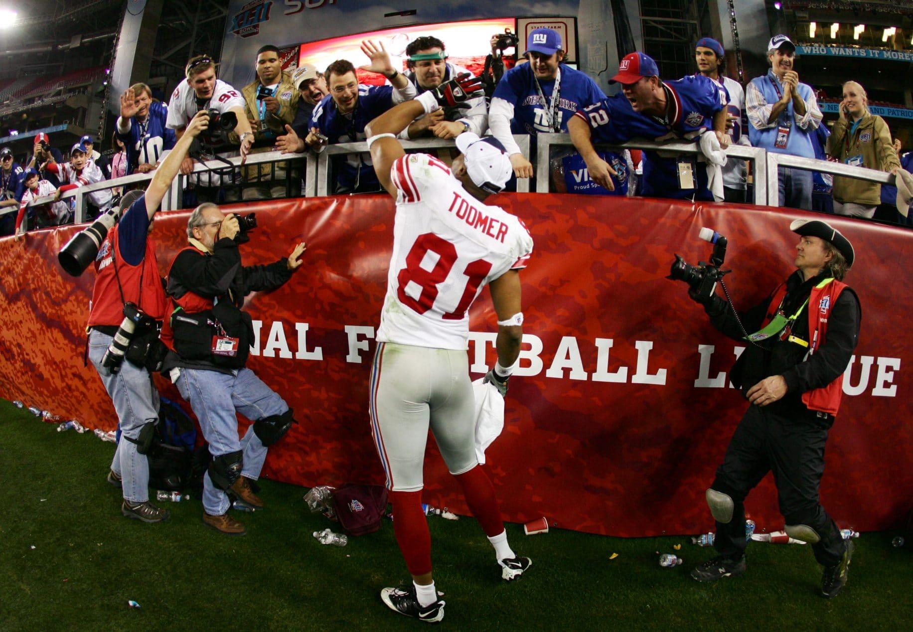 Amani Toomer New York Giants