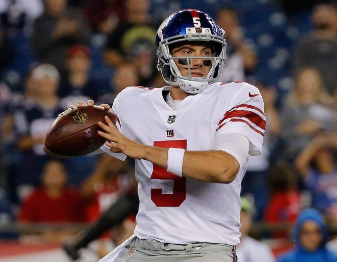 Have the New York Giants already ruined Davis Webb?