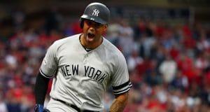 Aaron Hicks, New York Yankees, 2017 ALDS