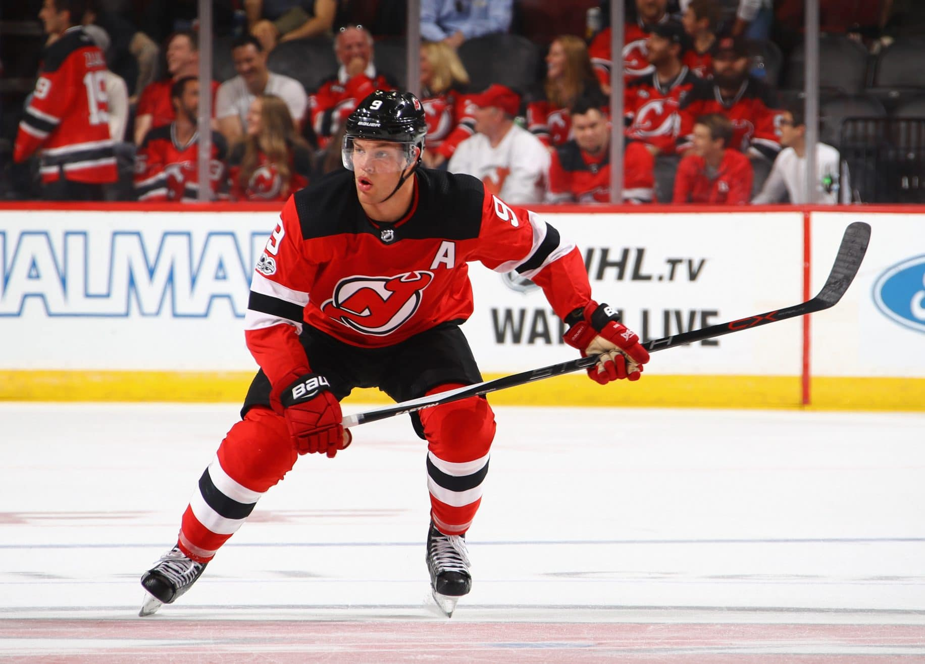 taylor hall number new jersey