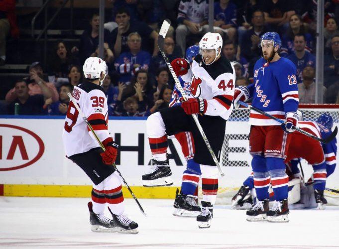New Jersey Devils, New York Rangers, NHL