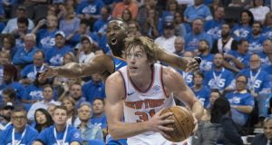 Head coach Jeff Hornacek and the New York Knicks should look to get shooting guard Ron Baker some more run.