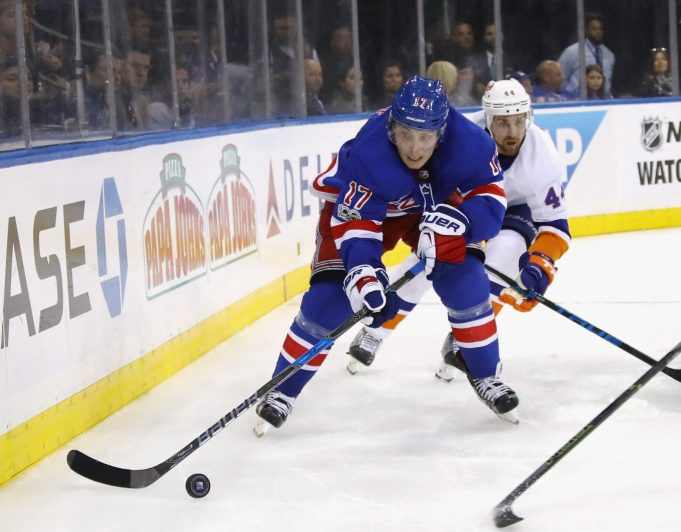 Jesper Fast continues to do it all for the New York Rangers