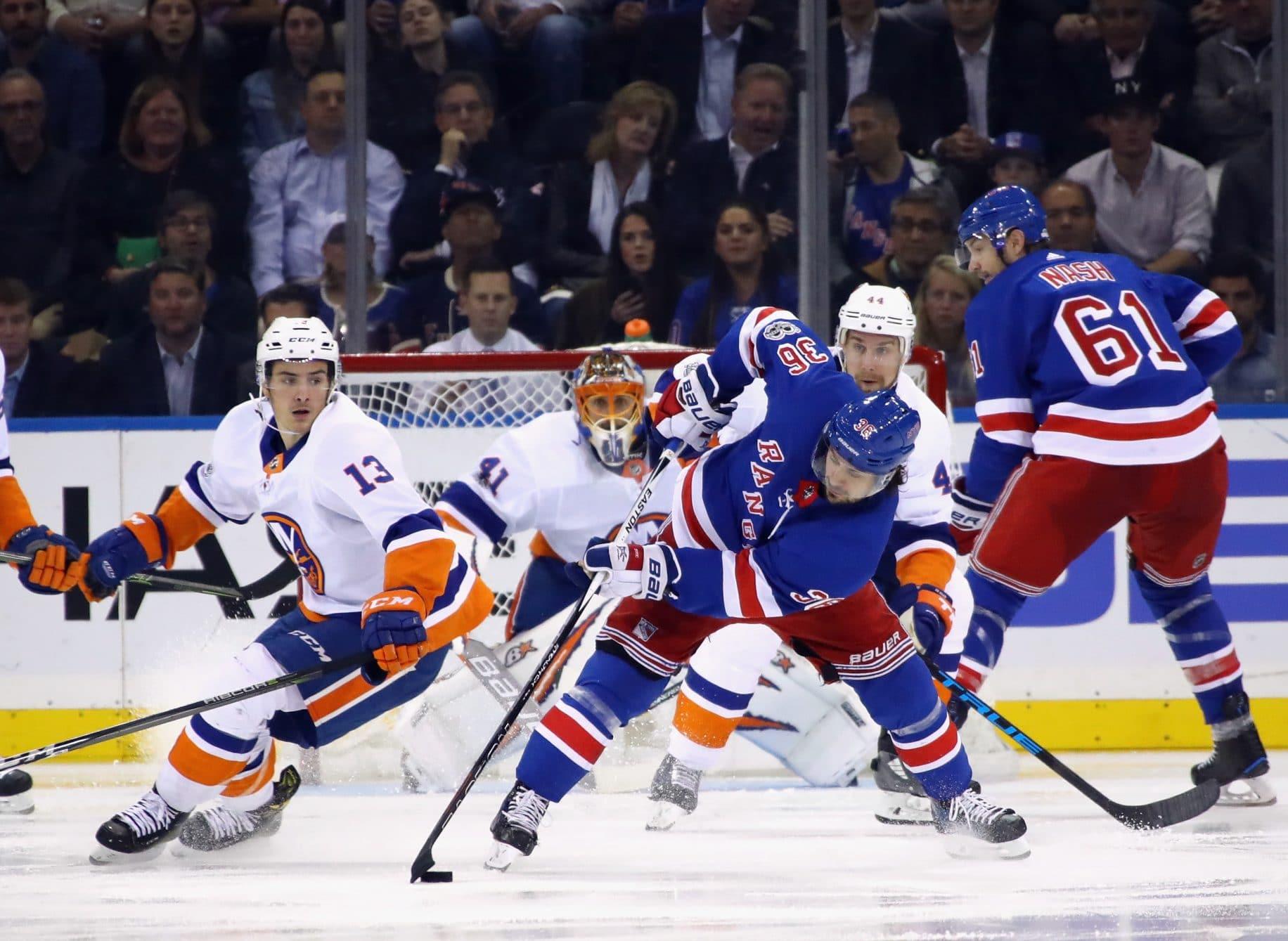 New York Islanders, New York Rangers