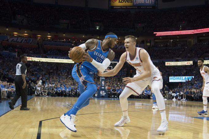 New York Knicks vs. Oklahoma City Thunder pregame: Carmelo Anthony's return