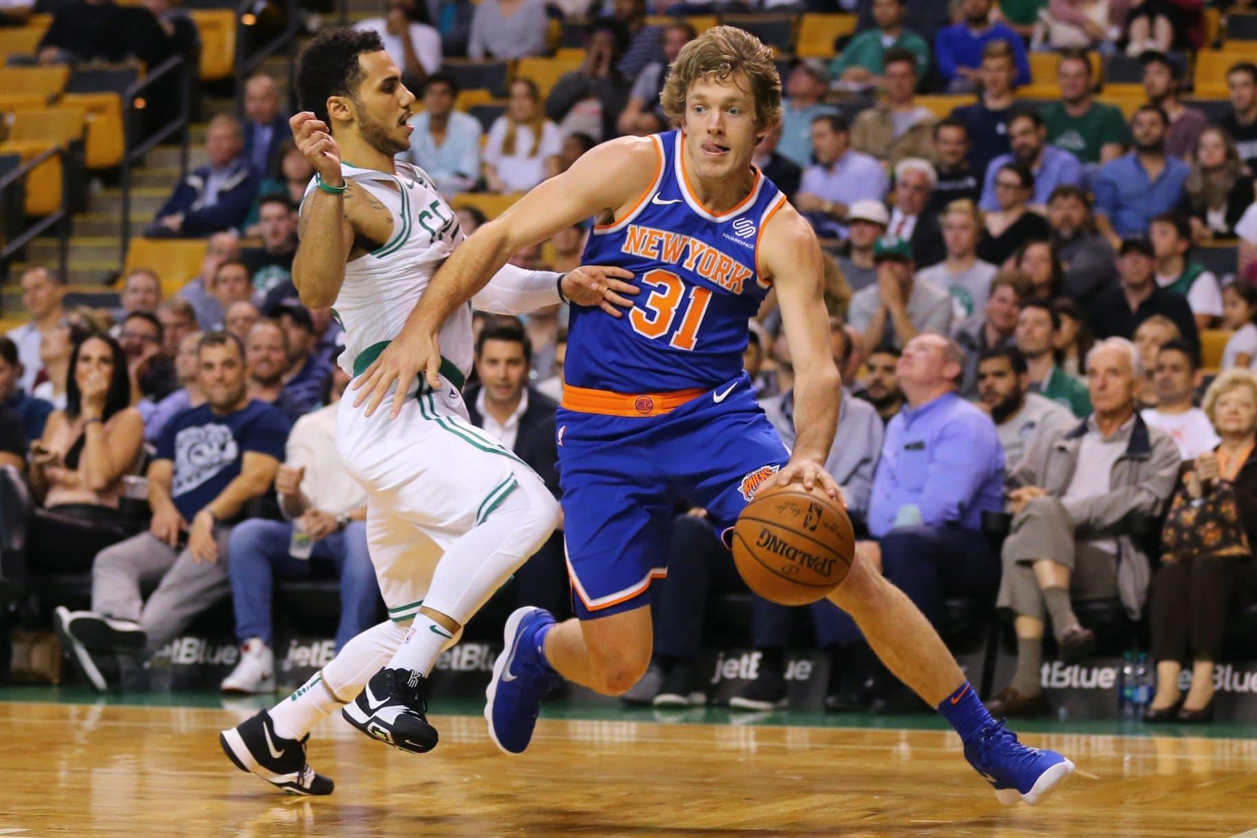 New York Knicks Should Get Ron Baker More Involved