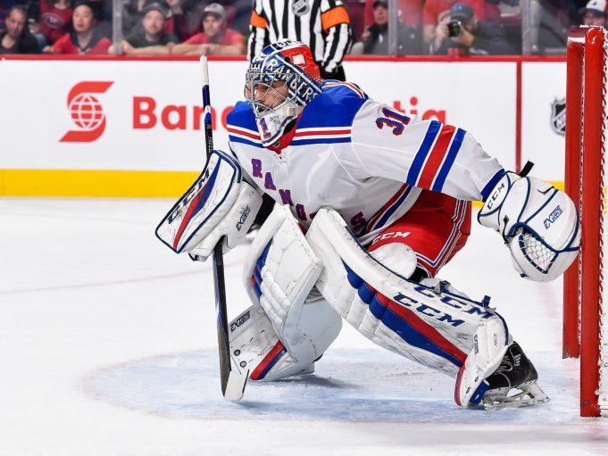 Ondrej Pavelec, New York Rangers, NHL