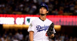 Yu Darvish, Los Angeles Dodgers, 2017 World Series