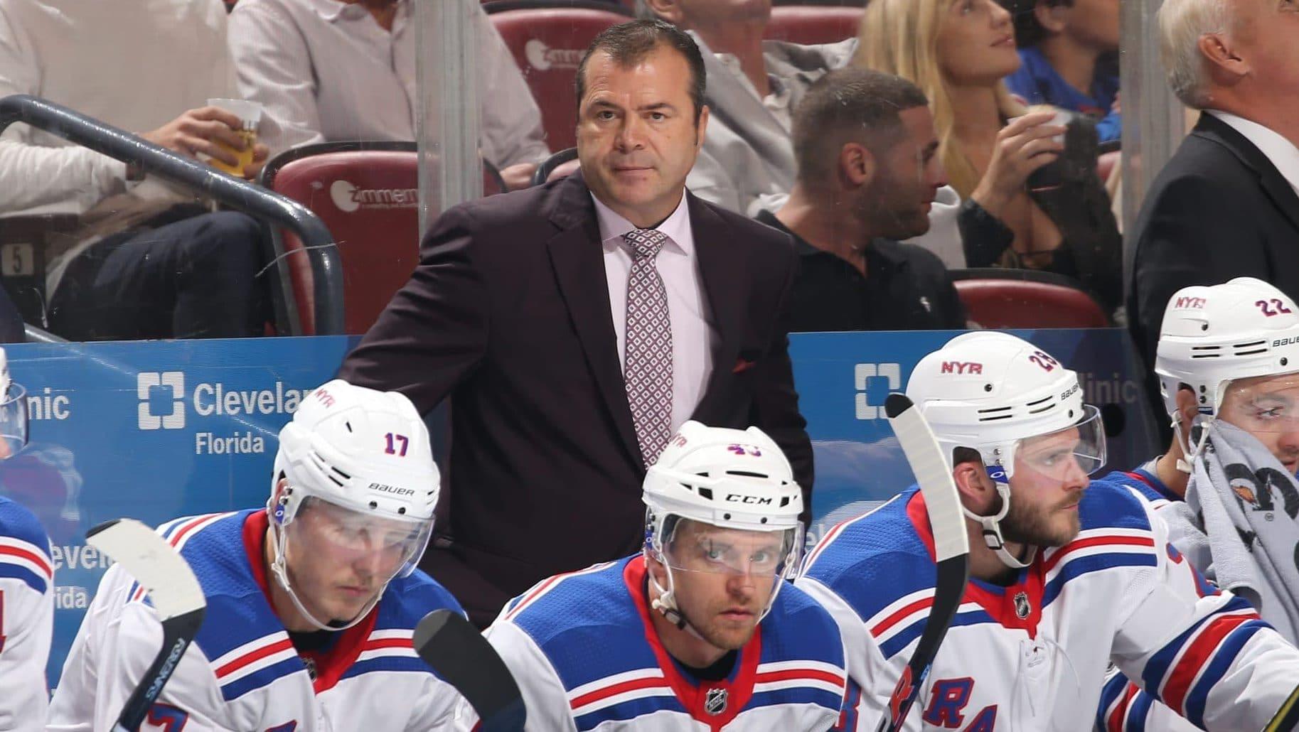 Alain Vigneault New York Rangers