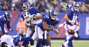 New York Giants' Sterling Shepard has fallen short of a go-to WR