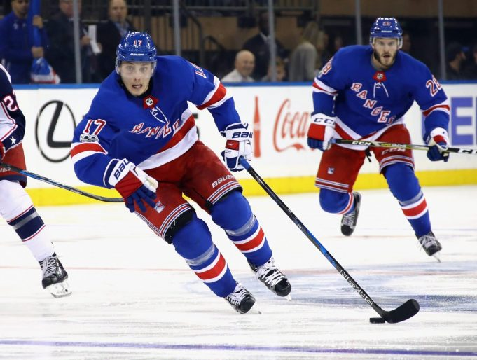 New York Rangers Three Stars of the Week (12/3/17-12/10/17)