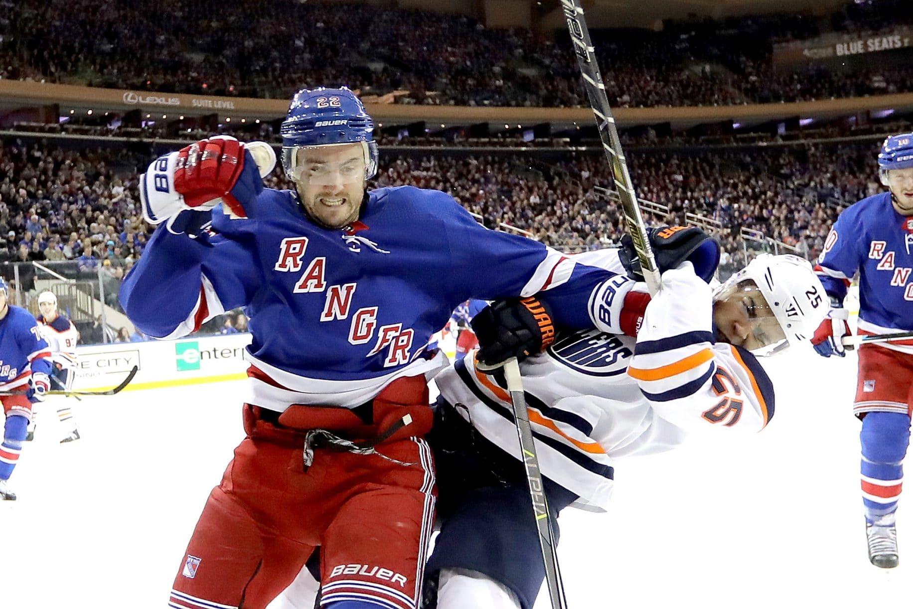 New York Rangers, Kevin Shattenkirk, NHL