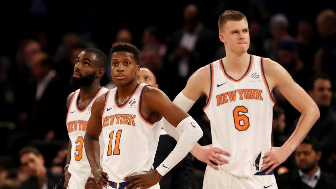 New York Knicks Mix 12/9/17: off to Chicago