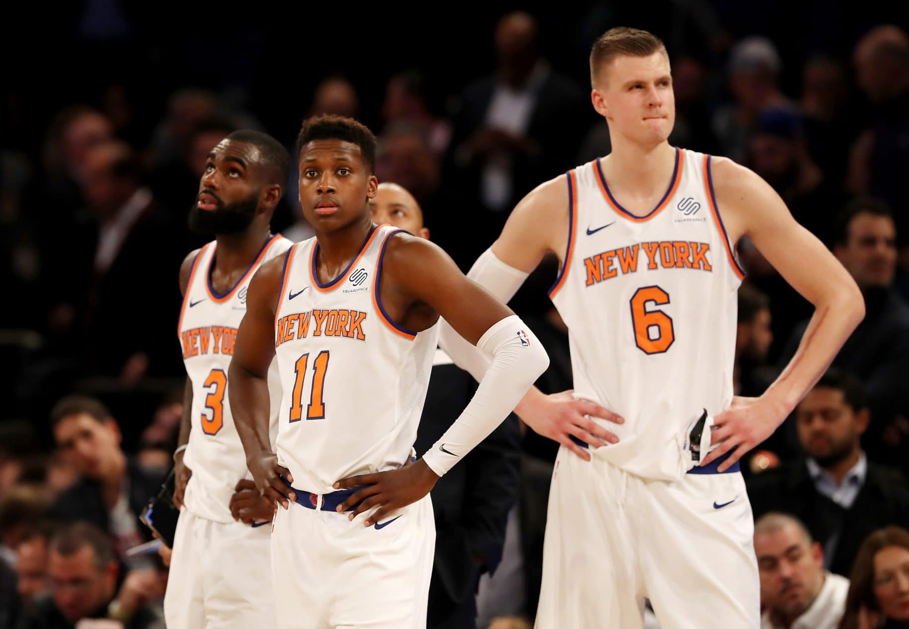 Frank Ntilikina is making the right strides with the New York Knicks