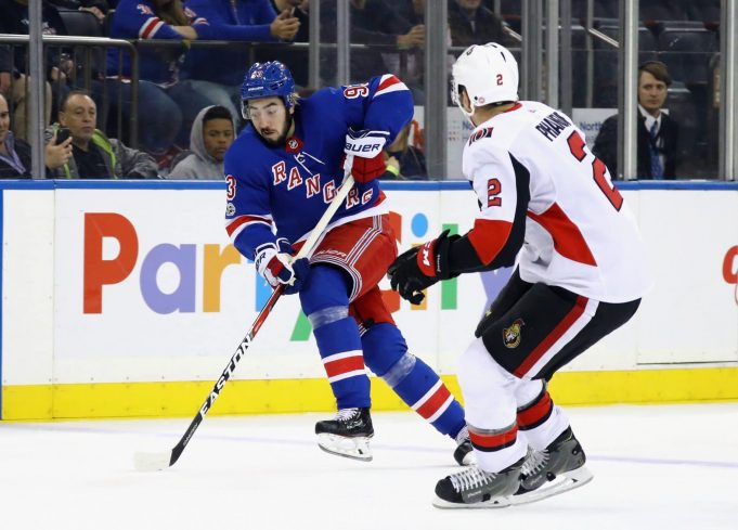 The New York Rangers must take their time with Mika Zibanejad
