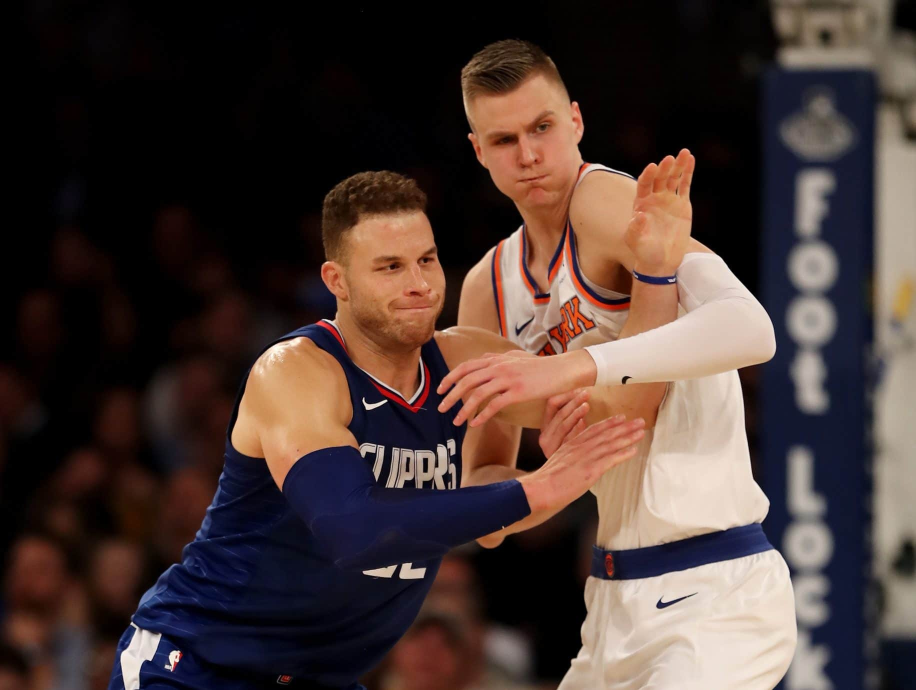 New York Knicks dodged a bullet in avoiding a Blake Griffin