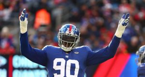 New York Giants: Pass rush must show signs of life against the Eagles