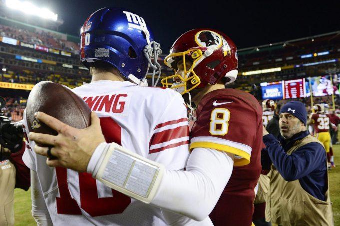 Eli Manning, Kirk Cousins, New York Giants
