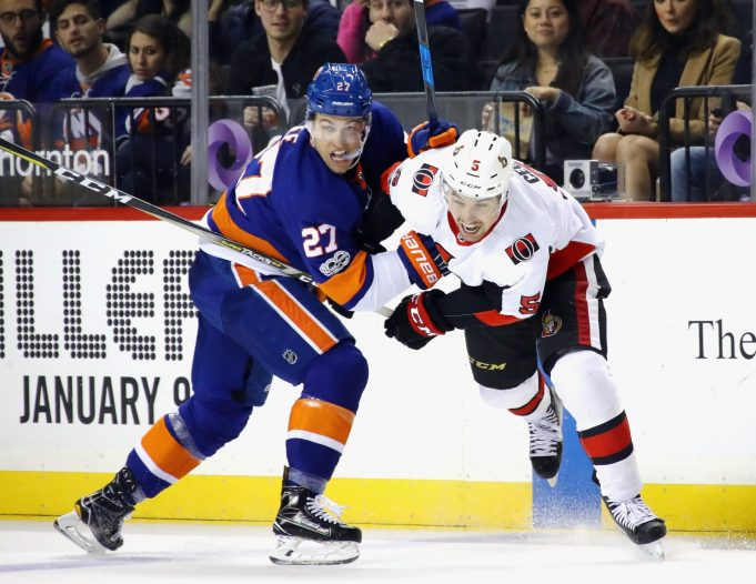 The New York Islanders held a 45-minute penalty kill meeting during practice ahead of their game against Boston tonight.