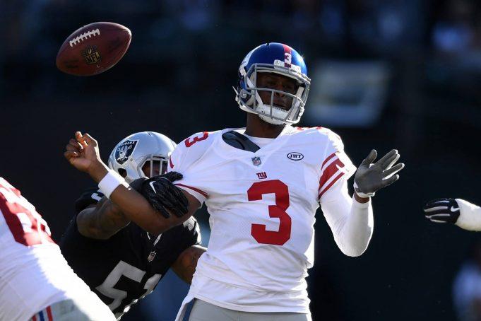 Oakland Raiders 24, New York Giants 17: Geno Smith average in loss
