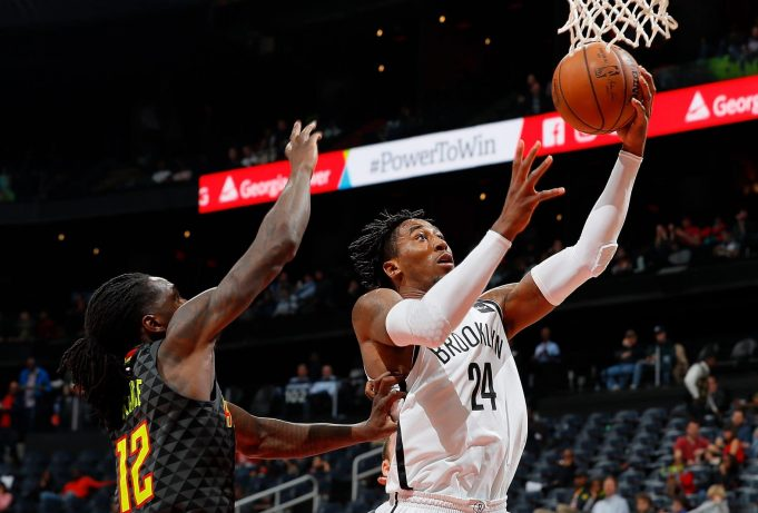 Rondae Hollis-Jefferson is taking over for the Brooklyn Nets