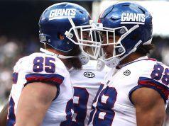 Rhett Ellison, Evan Engram, New York Giants