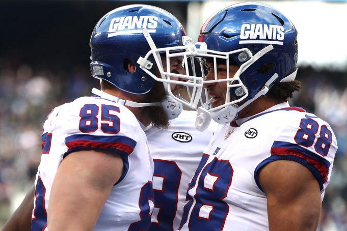 Rhett Ellison, Evan Engram, New York Giants