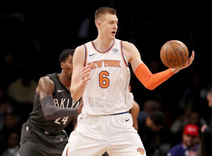 New York Knicks Mix 12/18/17: Kristaps Porzingis a game time decision